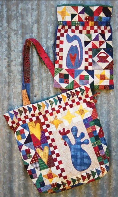Nanny Mac S Dilly Bag Kookaburra Cottage Quilts